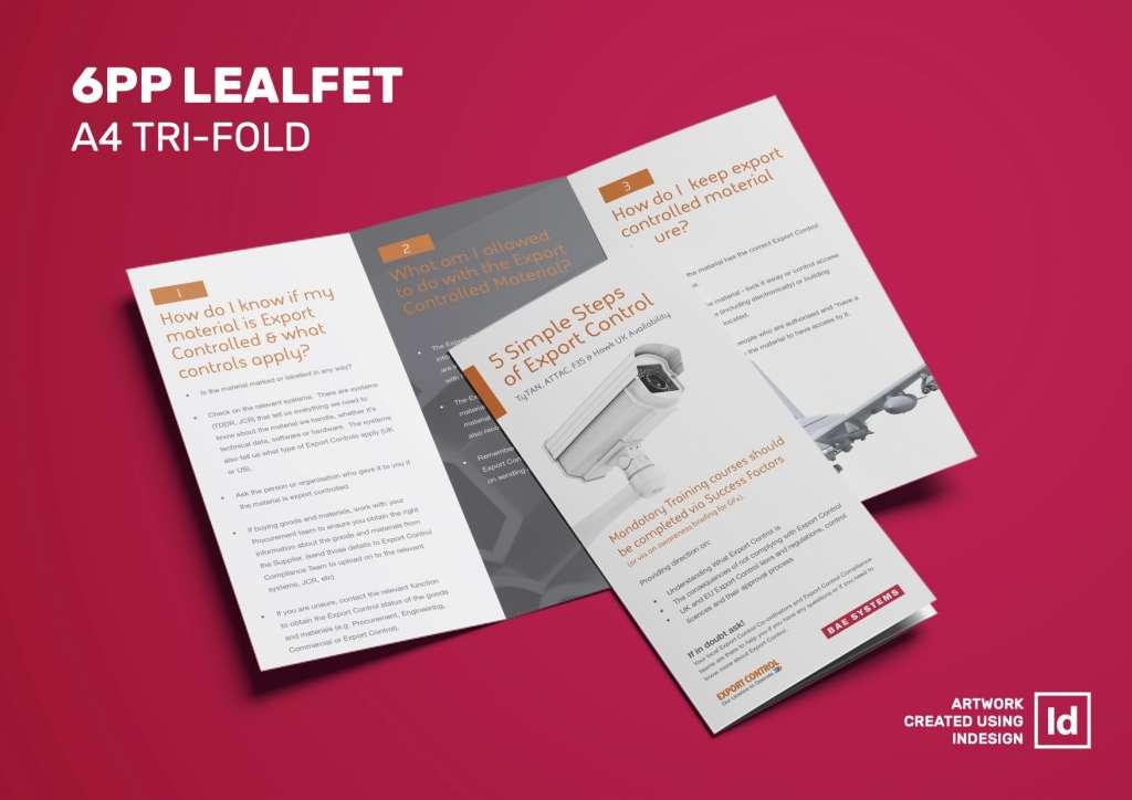 leaflet layout