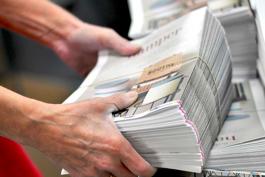 printing newspapers b and d prints